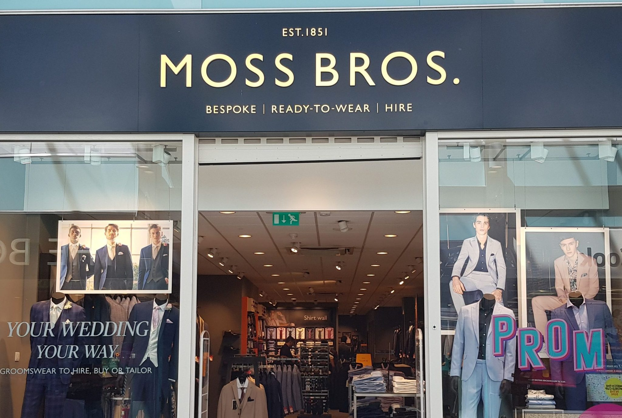 Moss Bros to launch rental subcription service