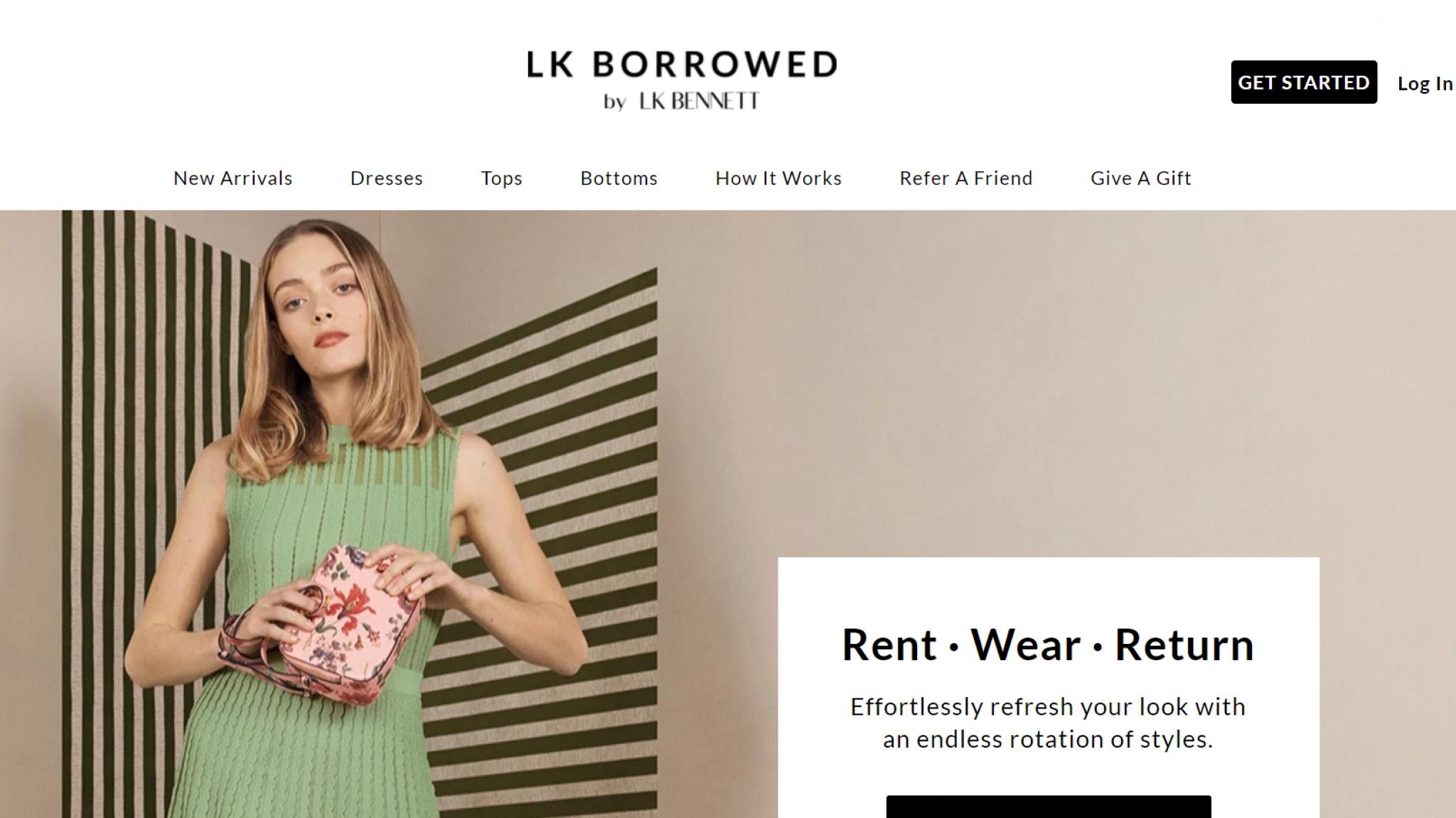 LK Bennett launches clothing rental service