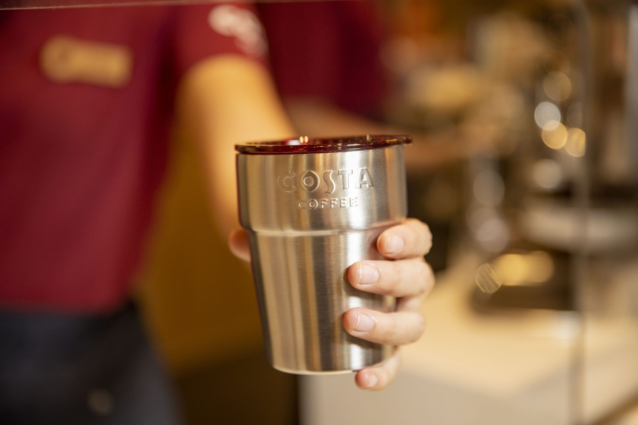BURT is the new reusable cup scheme from Costa Coffee
