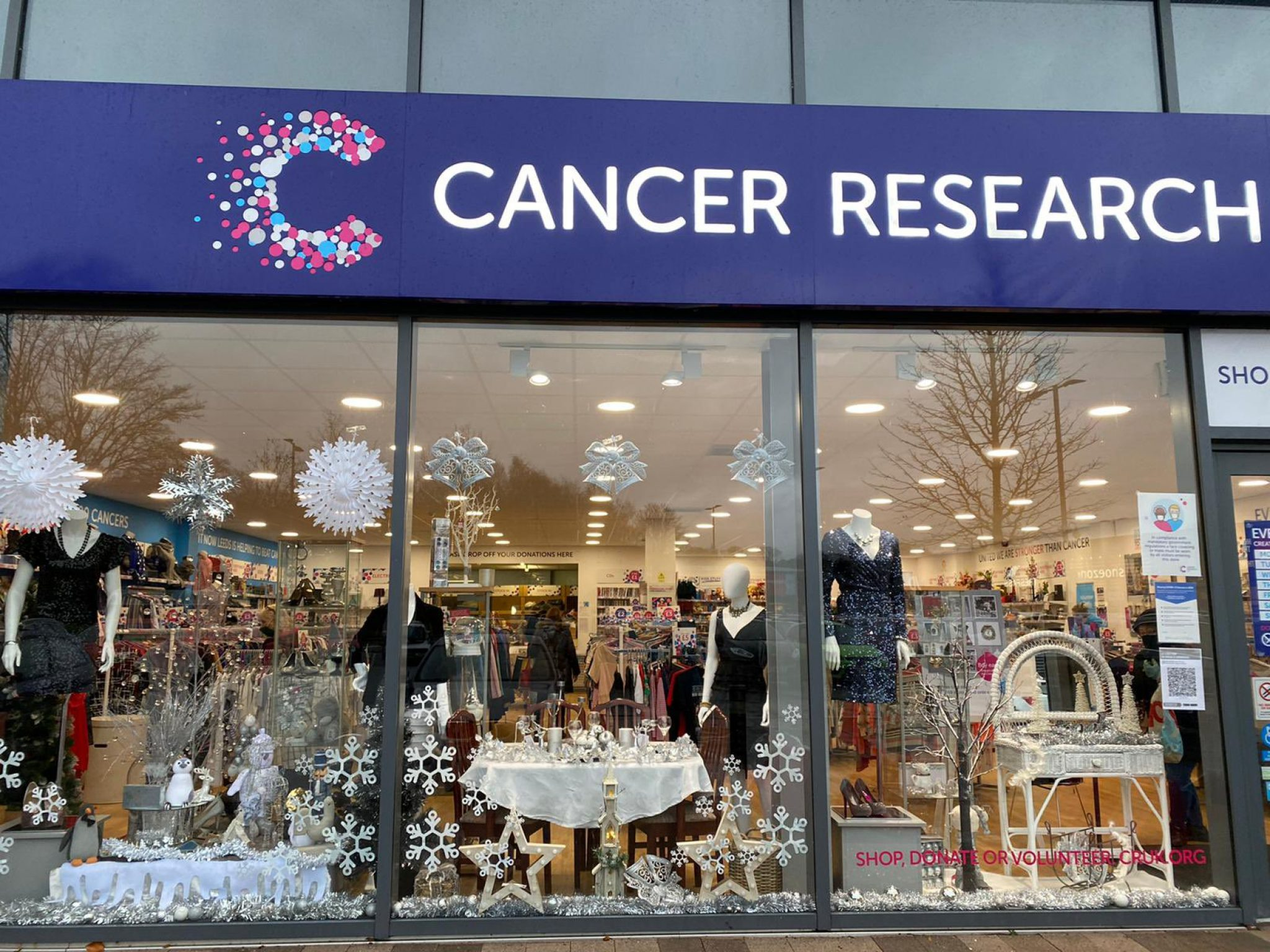 Battery recycling has come to Cancer Research UK stores