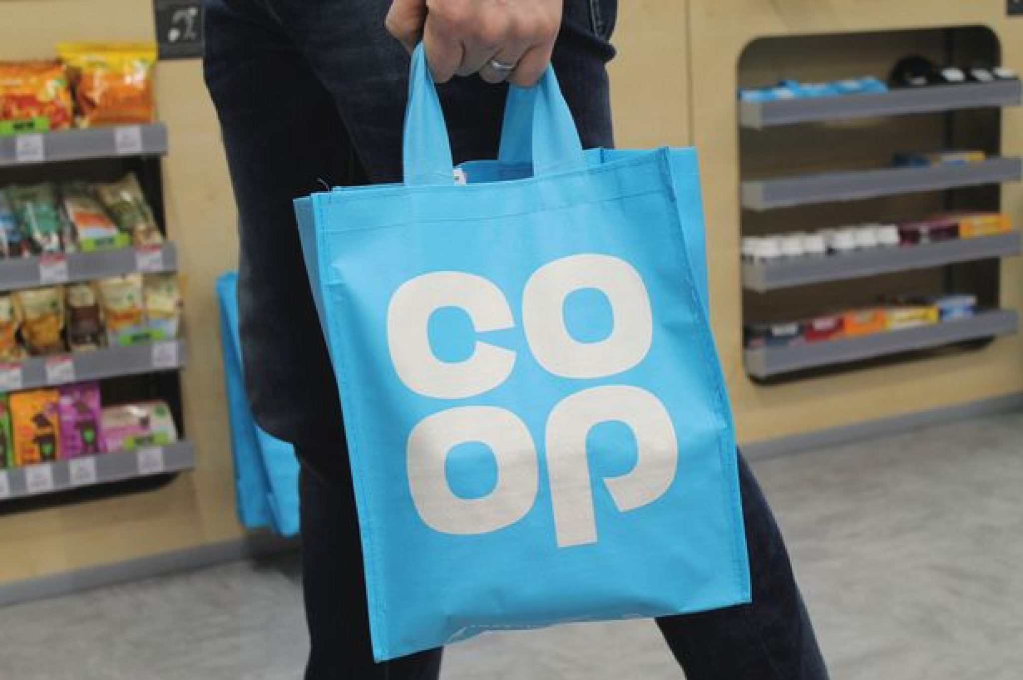 Co-op banning bags for life