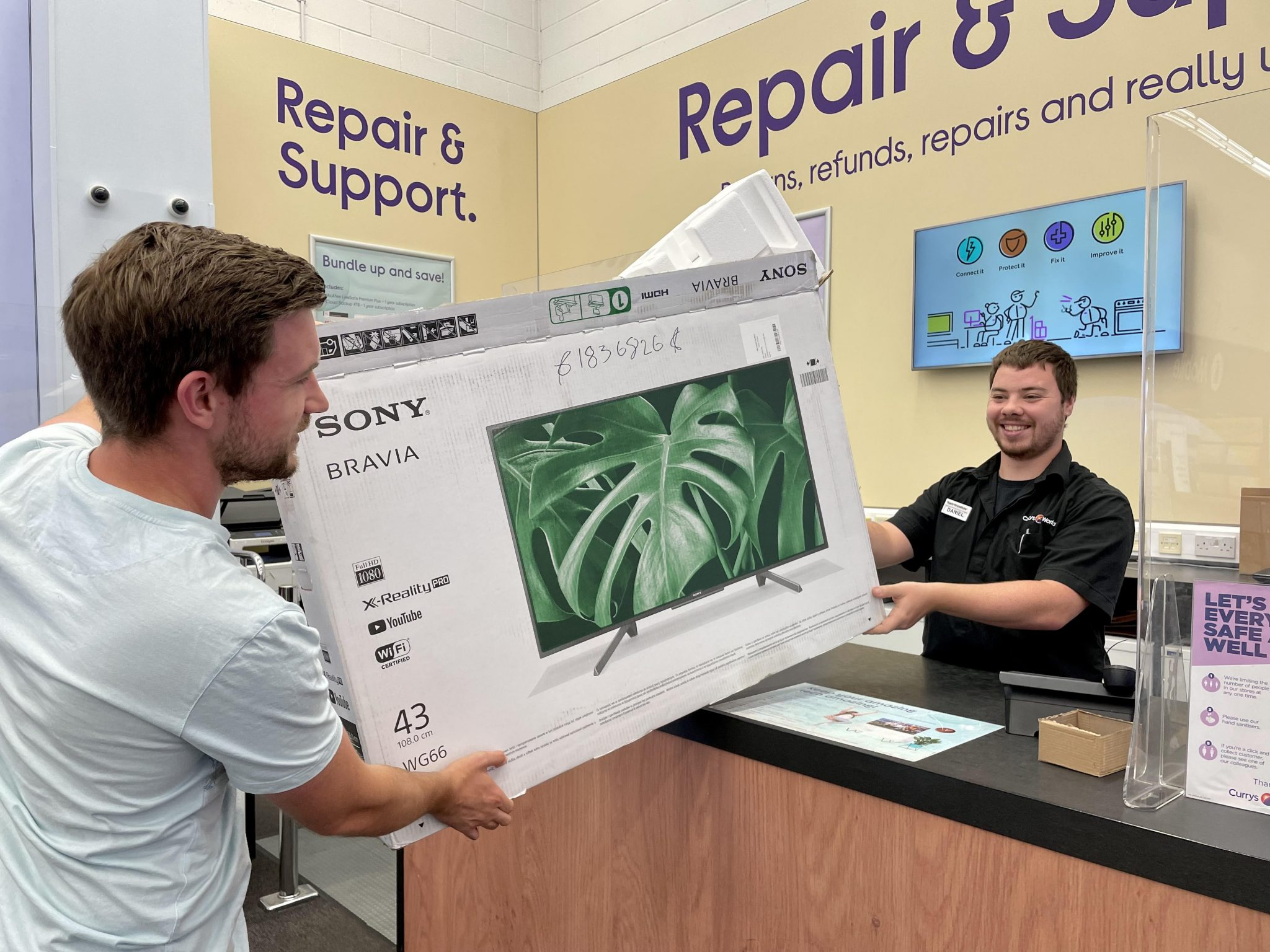 Currys PC World launches polystyrene recycling scheme