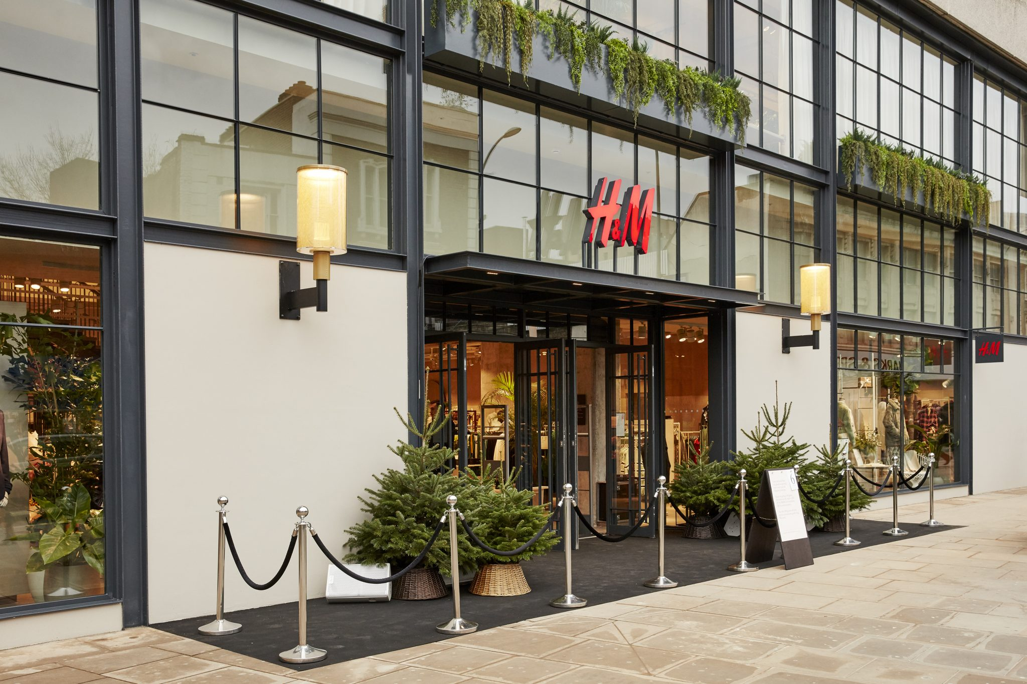 H&M is aiming to encourage eco-conscious shopping