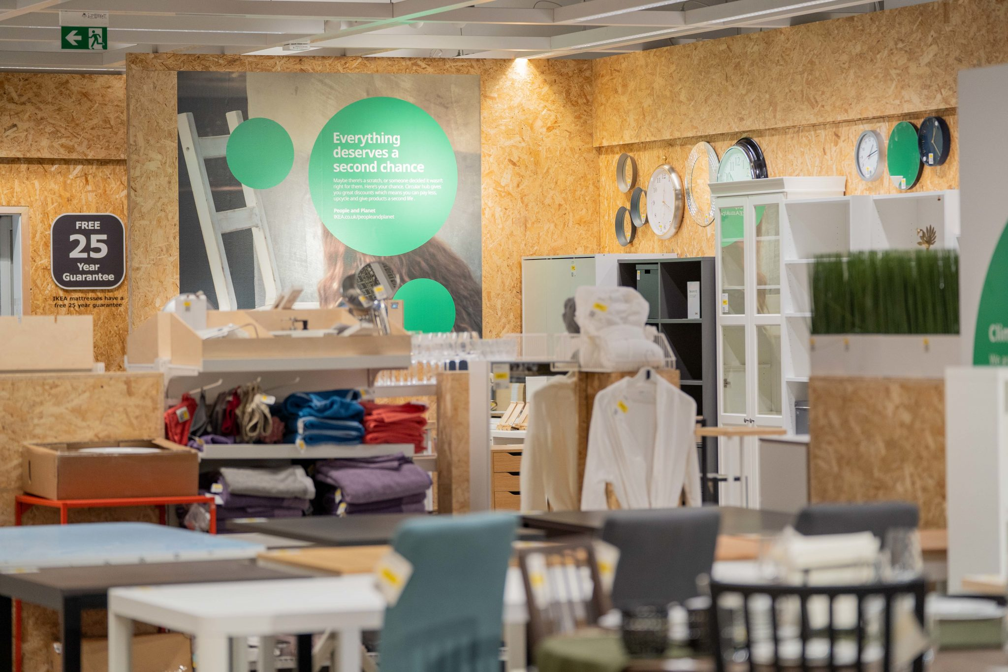 IKEA launches Buy Back, enabling customers to sell back old furniture, giving thousands of items a second life