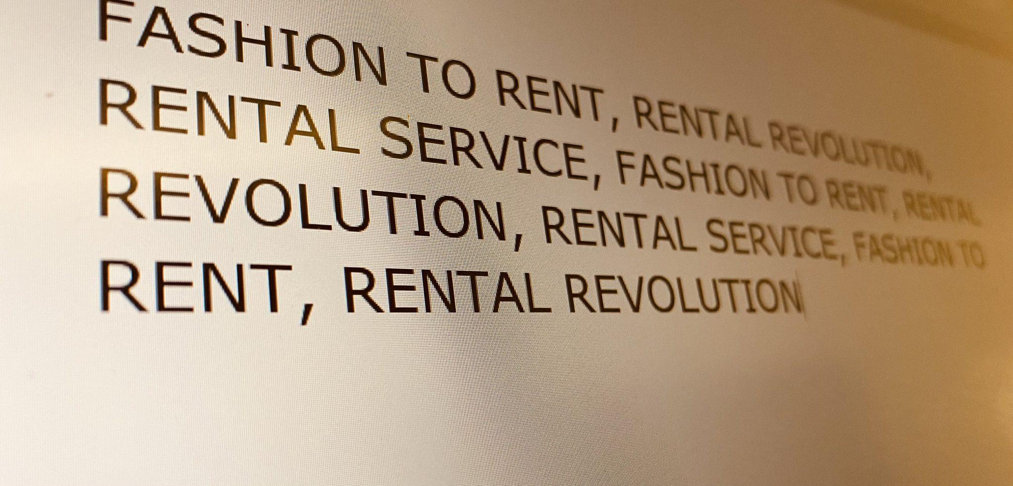 Retail rental