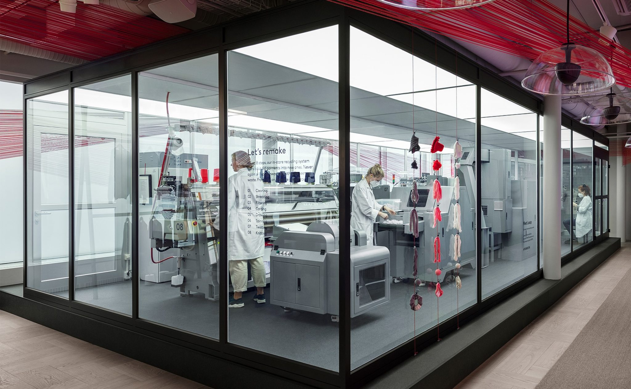 Garment recycling system launches in H&M in Sweden