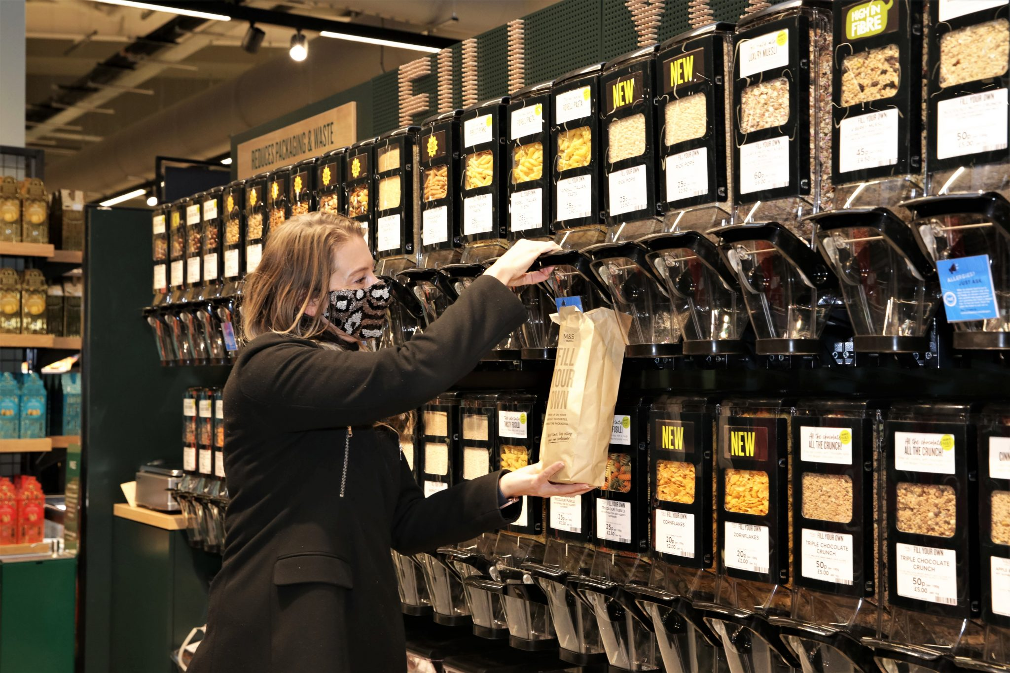 M&S 'Fill Your Own' concept arrives in third store