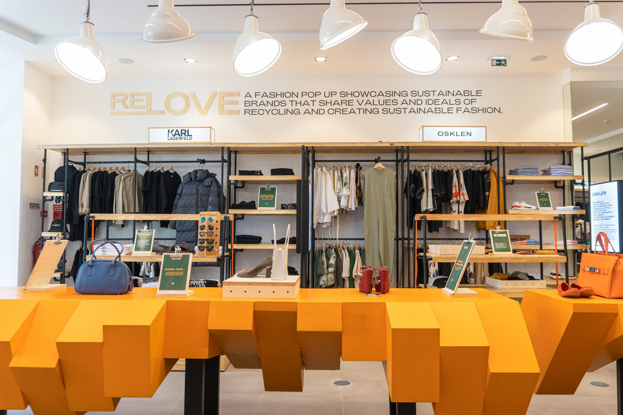 Re.Love, the 'sustainable' pop-up store from VIA Outlets