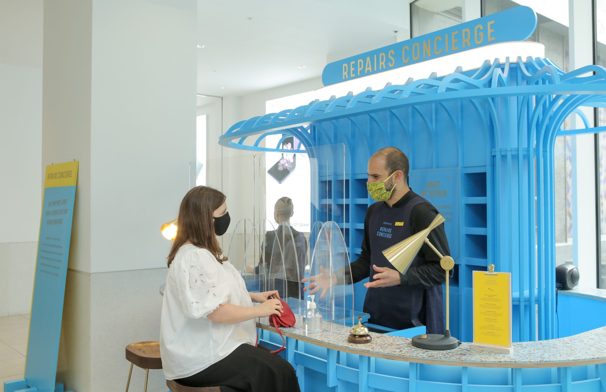 Repairs, resale and rental are key pillars of the new Selfridges strategy
